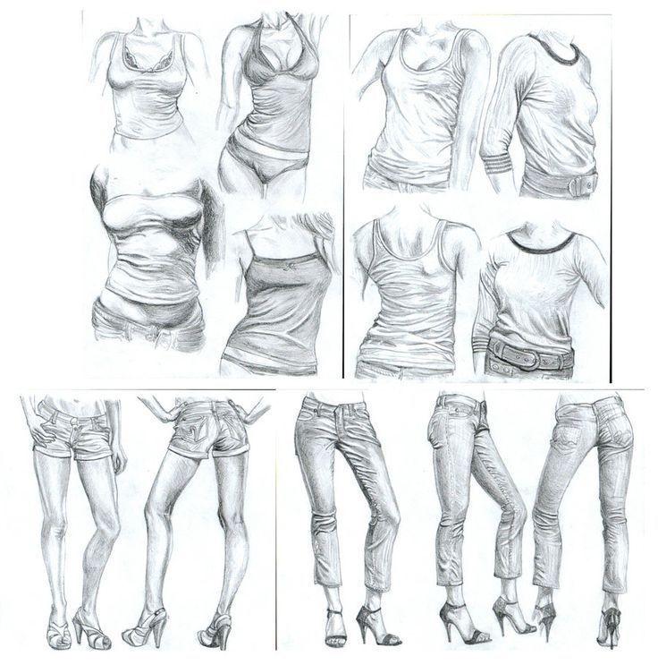 Zeichnen körper frau 30 Mädchen
