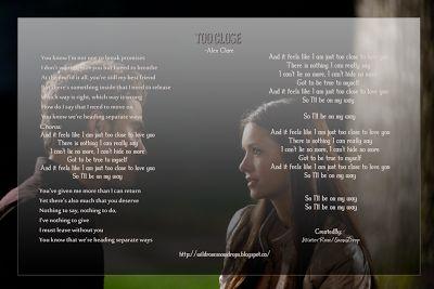 My Poems, Recipes, English & Sinhala Lyrics, Quotes.....: Too Close, Lyrics - Alex Clare