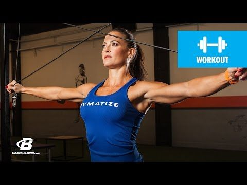 Bodybuilding.com: Shoulder & Arm Workout | Erin Stern's Elite Body 4-Week Fitness Plan