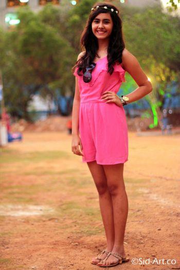 Hot Pink Jumpsuit, Street Fashion, Street Style