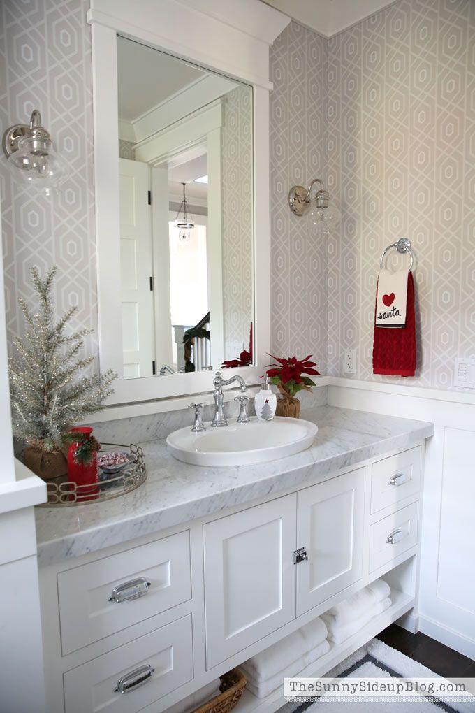 Weihnachtspulver Badezimmer (12 Tage von Ferienhäusern