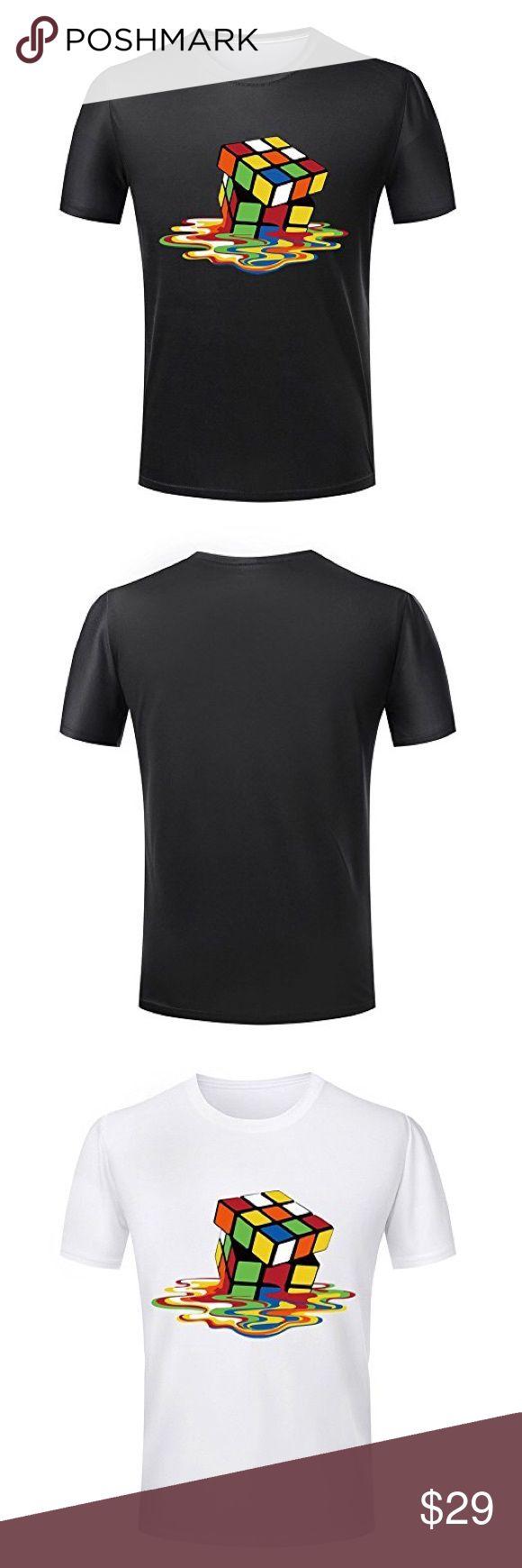 Design a t shirt rubric - Melting Rubix Cube T Shirt Boutique