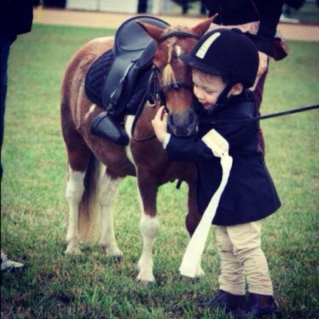 Aw!Little Girls, Sweets, Miniatures Hors, Ponies, Children, Kids, Little Boys, Animal, Minis Horses