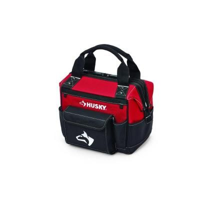 Husky 12 in. Full Mouth Bag in Red-GP-46095N14 BB - The Home Depot