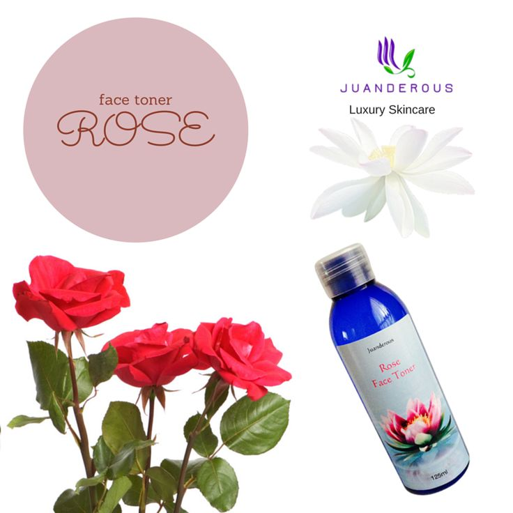 Rose Face Toner - Vegan Skincare Product $20.00 Our beautiful Rose Face Toner is made with natural rose floral water to soothe the skin, and natural witch hazel water to remove excess oils and bacteria. Our toners are hydrating, and filled with active ingredients that treat and soothe your skin.