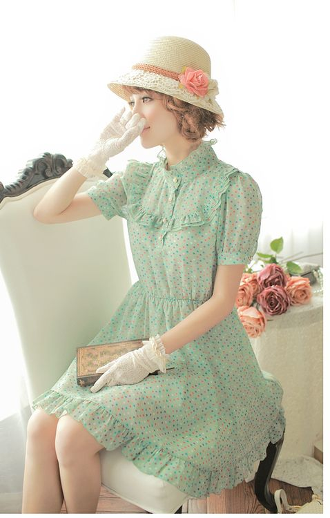 soft mint green color for dress