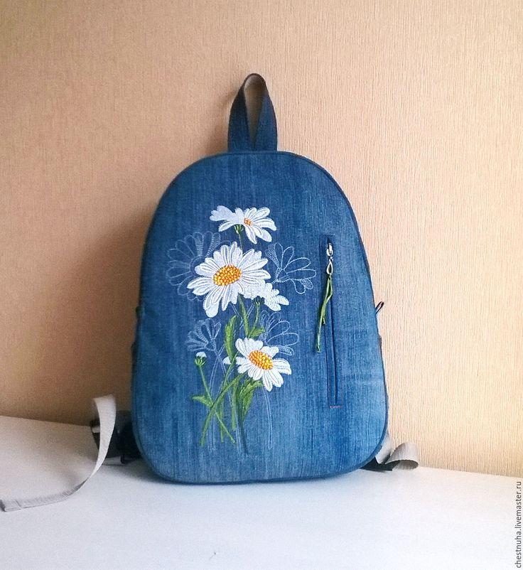 Рюкзак джинсовый женский рюкзак.сшить рюкзак самостоятельно