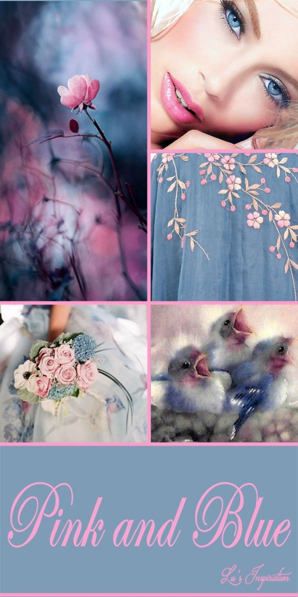 PINK AND BLUE ~~