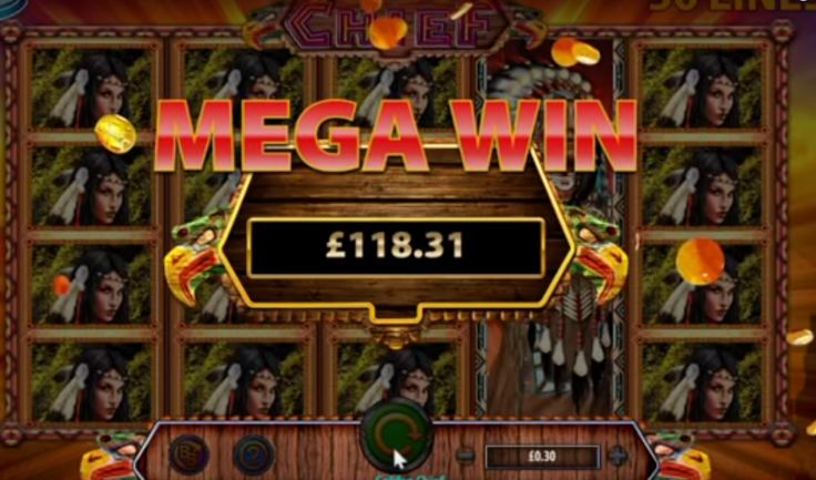 Golden Chief Slot MEGA WIN! We hit a mega win on the Golden Chief online slot. 20p bet wins £120!