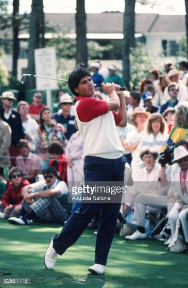 Fred Couples - 1986 Masters Tournament
