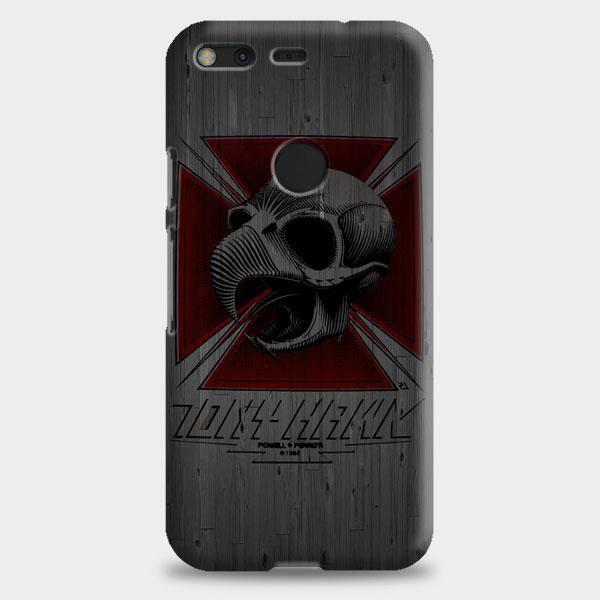 Tony Hawk Skateboard Skull Garden Logo Google Pixel 2 Case