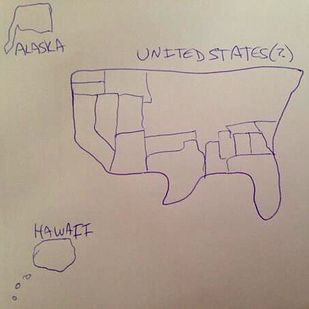Best Draw A Map Ideas On Pinterest Drawing Techniques - Usa map you can draw on