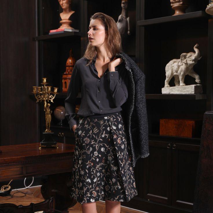 SHIRT MILANO SILK REGULAR FIT - Masons Collection hiver 2015 _Amalfi Wavre _ www.boutique-amalfi.be