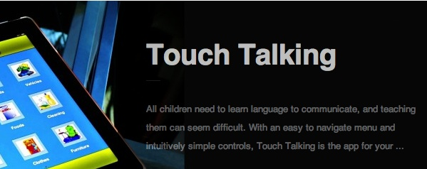 Touch Talking by Pufferfish Inc. ‹ AppAbled.com