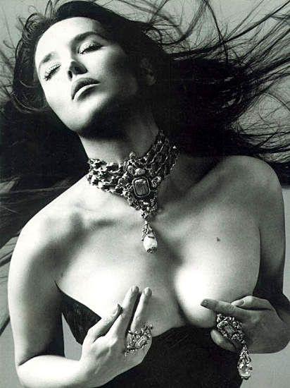 Isabelle Adjani by Richard Avedon
