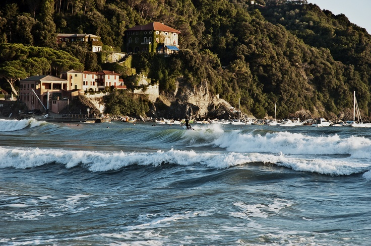 Levanto - Surfing Day