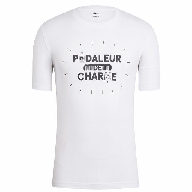 Our new Pédaleur de Charme t-shirt, jersey and cap by @rapha go on sale tomorrow. 🎩🎁👍
