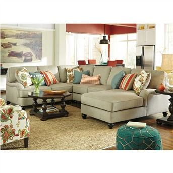 25 best ideas about beige sectional on pinterest large for Ashley beige sofa chaise
