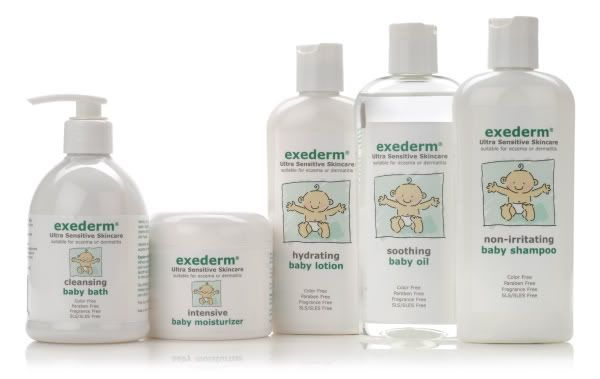Baby Bath Products for Kids with Eczema: Exederm Review
