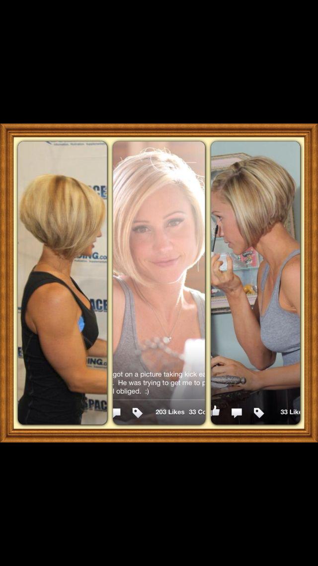 LOVE Jamie Eason and LOVE her hair