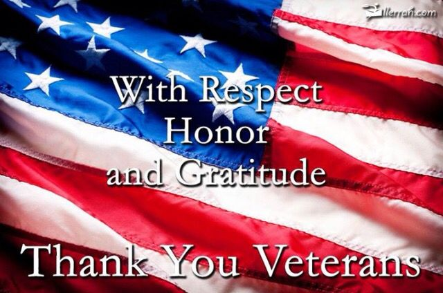 Thank You Veterans                                                                                                                                                                                 More
