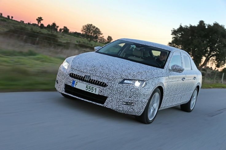 The new #ŠKODA #Superb will be celebrating its world premiere in mid-February 2015 in #Prague. The introduction at the #Geneva Motor Show will follow shortly afterwards in early March. The market launch of new #SKODA Superb is planned for mid-2015.