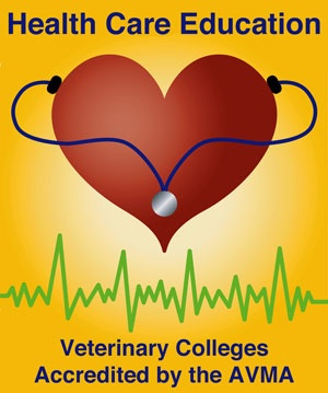 Links to veterinary colleges accredited by the AVMA  #veterinary #pets #vets #dogs #cats