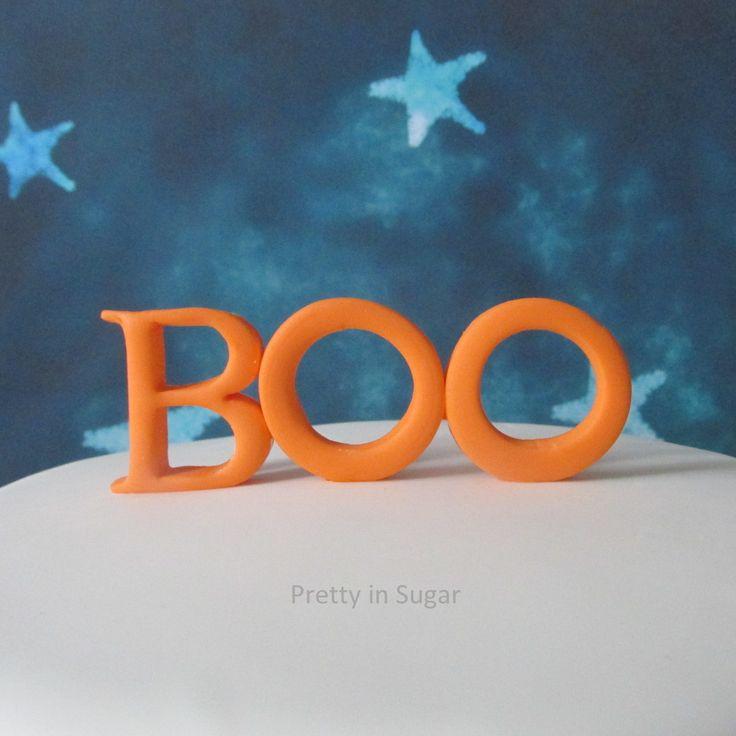 Boo topper | Halloween