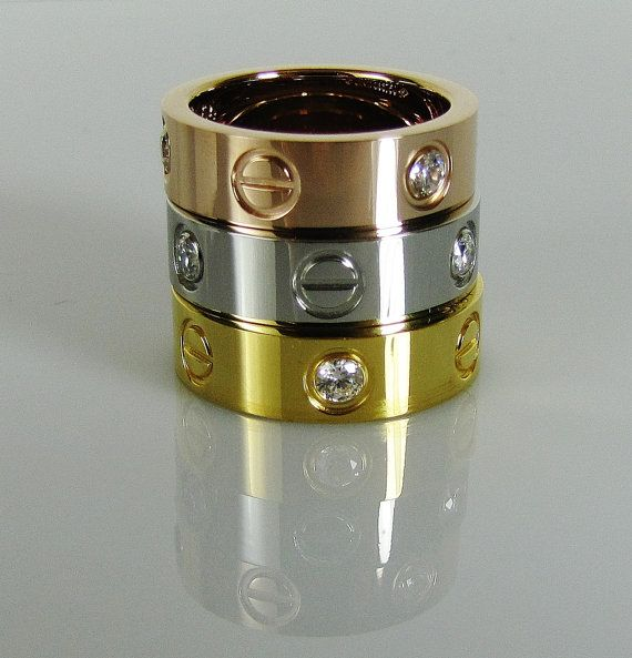 bdsm gold rings