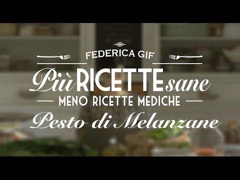 Pesto di Melanzane Mipiacemifabene ;-) - YouTube