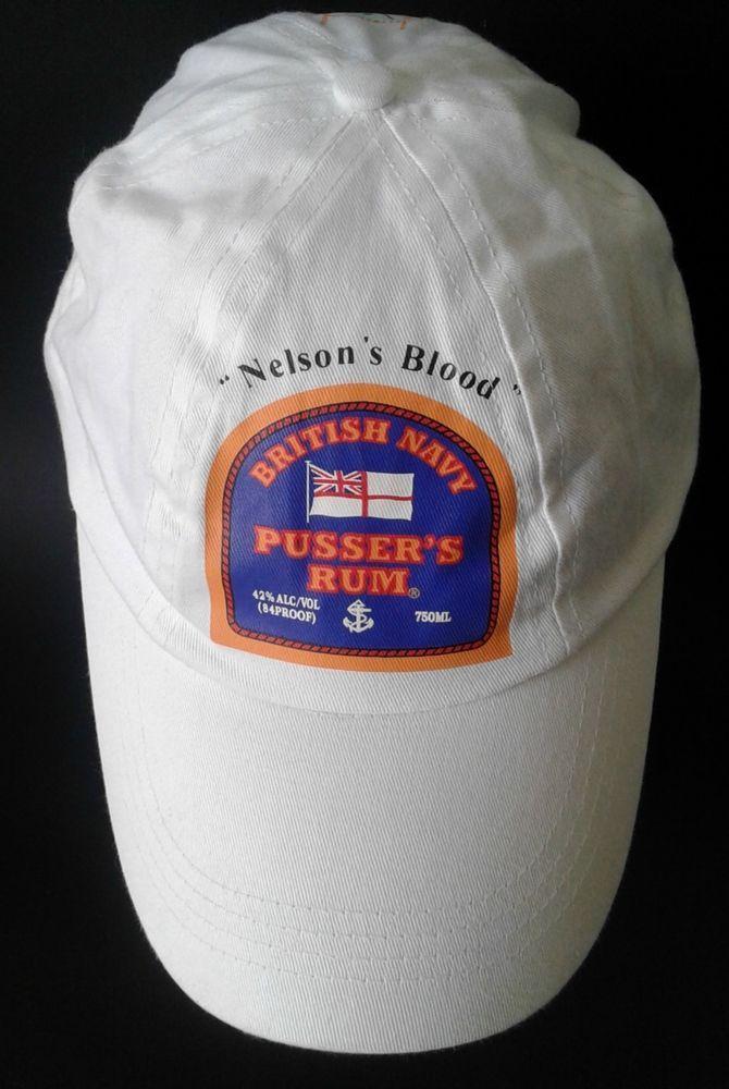 Pussers Rum Alcohol Hat British Navy Artisan Cocktail Painkiller Cap Snapback  #Unbranded #SnapbackBaseballCapHat