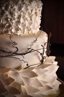 Wedding cake by Just a Couple of Chicks!  @Anna Parsons