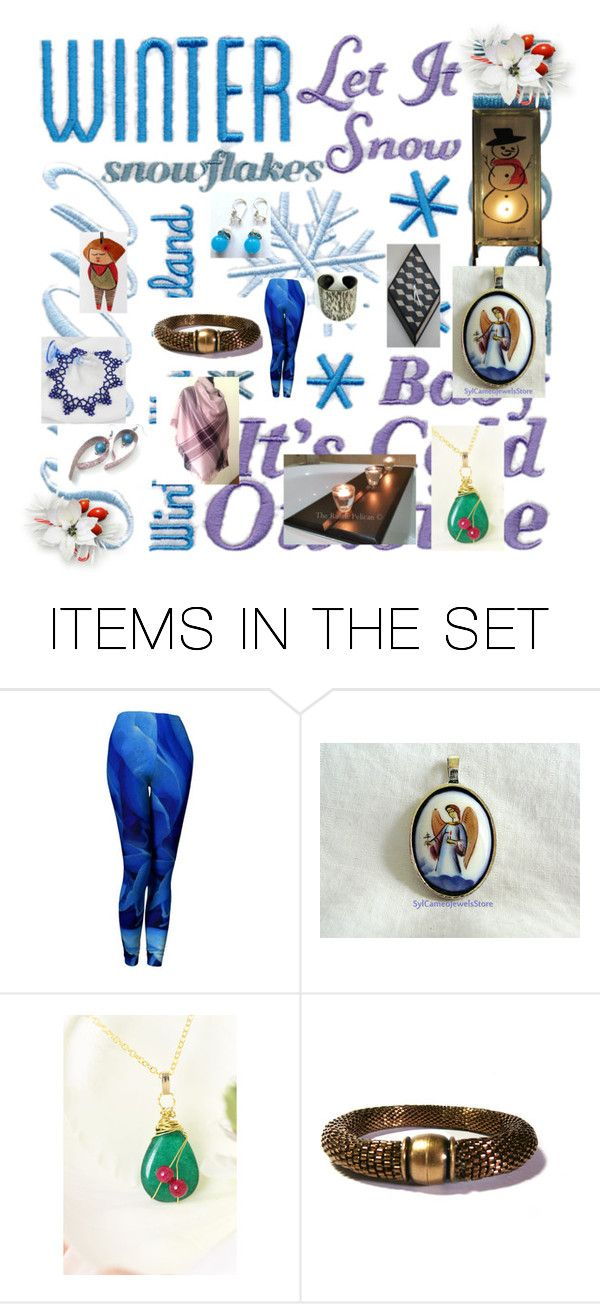 """""""Handmade Gift Guide"""" by glowblocks ❤ liked on Polyvore featuring art"""