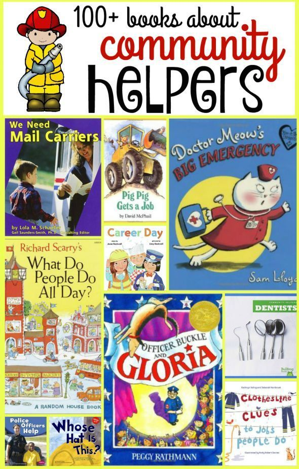 Wow - this is the biggest list of books about community helpers that I've seen…