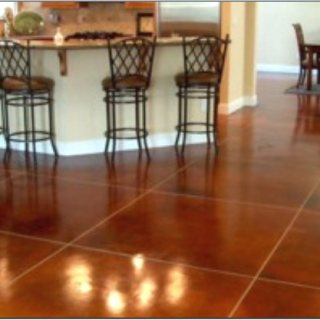 17 Best Images About Acid Stained Concrete Floor On