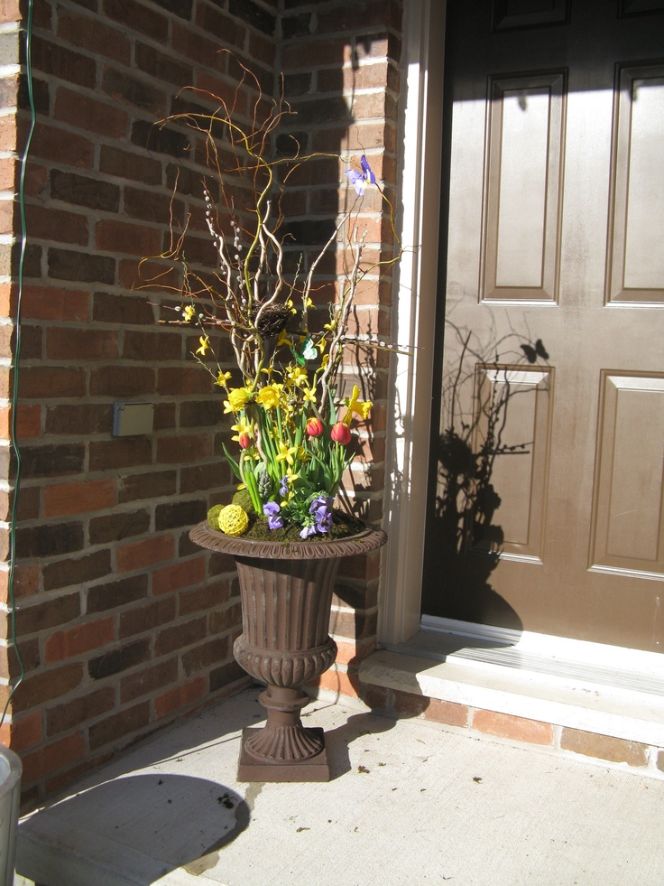 1000 Images About Easter Front Porch Decor On Pinterest