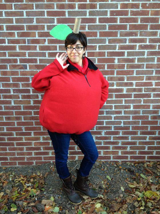 Apple costume!