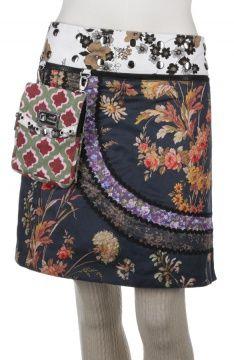 Kiki long wrapskirt with pouchbag #FairlyTraded #Skirt #OneSize