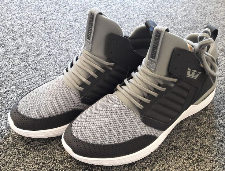 Another view of these great trainers from Supra - restocked now at Orangezone.