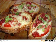 Křupavé chlebíčky obráceně