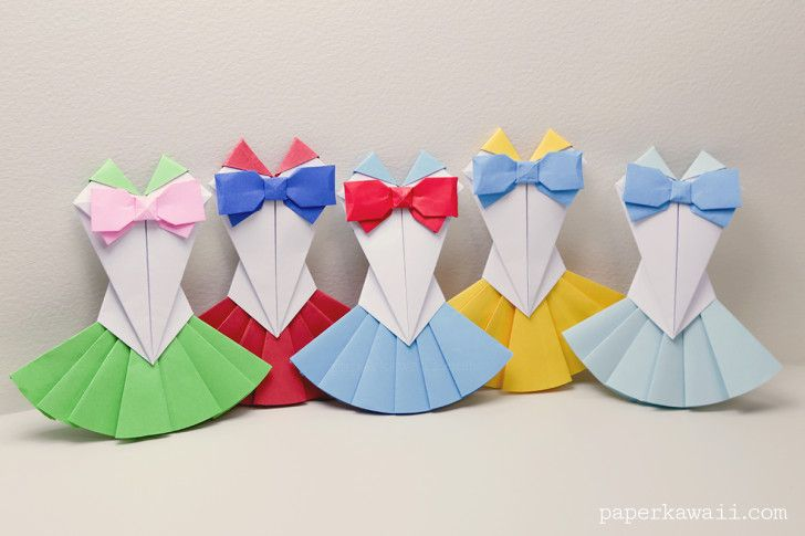 Origami Sailor Moon Dress Tutorial - Paper Kawaii
