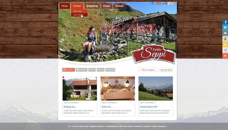 Project: www.fewo-sepp.at