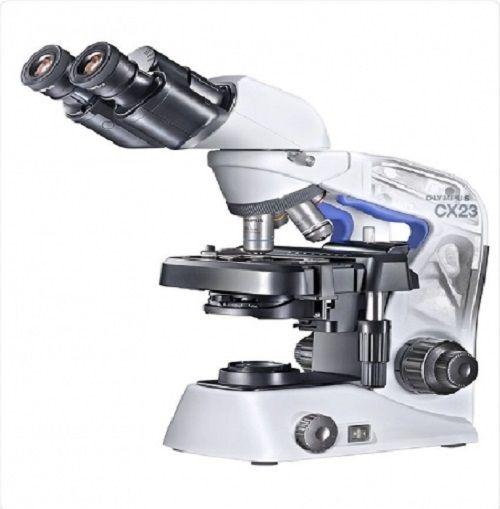 Mikroskop binokuler Olympus CX23 merupakan mikroskop penyempurnaan dari produk mikroskop binokuler sebelumnya seperti seri CX21 dan CX22. Produk terbaru mikroskop binokuler ini mempunyai banyak kelebihan dibandingkan produk sebelumnya, di antaranya: (1) lebih ergonomic, sehingga menambah keselamatan dalam proses penggunaan, (2) pegangan mikroskop diberikan warna berbeda untuk memudah proses pemindahan, (3) desain membulat, menghilangkan semua tepi yang tajam, (4) berat neto 5,9 kg, (5)…