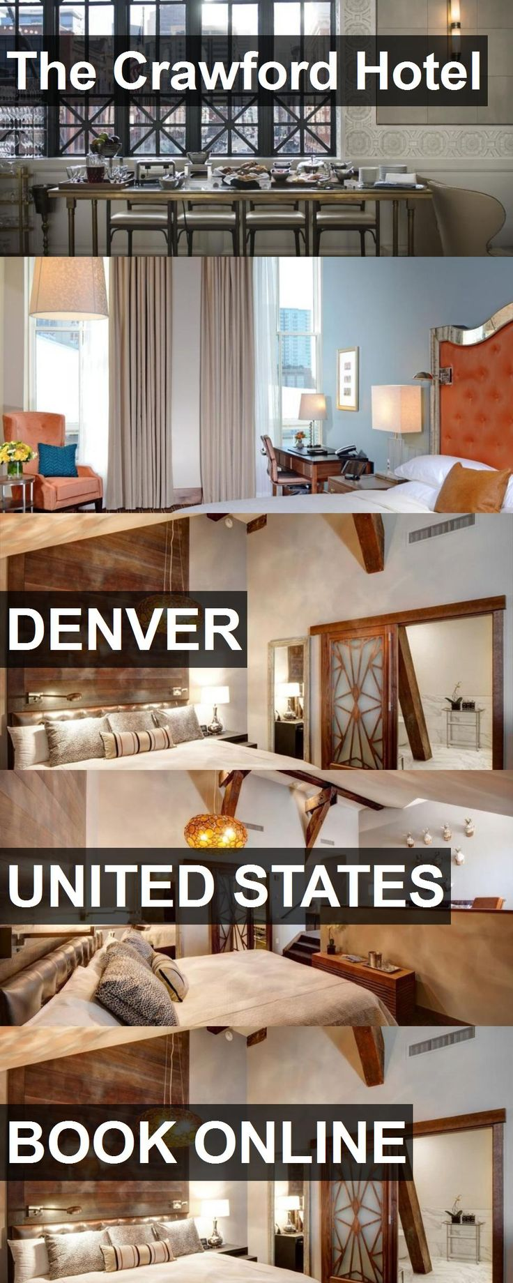 The Crawford Hotel in Denver, United States. For more information, photos, reviews and best prices please follow the link. #UnitedStates #Denver #travel #vacation #hotel