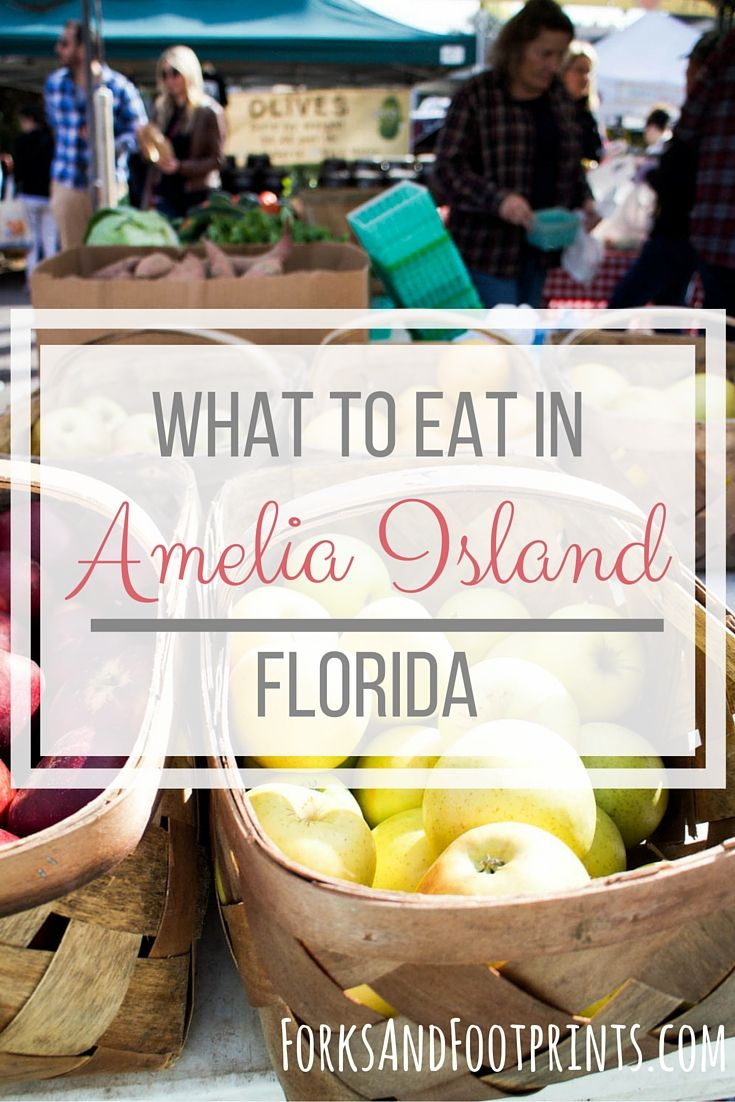 Amelia Island, Florida has a rich culinary scene. The home of the modern shrimping industry obviously offers some deliciously fresh seafood but there is so much to more to be enjoyed in the restaurants on this little island. BONUS: #glutenfree tips for visiting Amelia Island. |  ForksAndFootprints.com