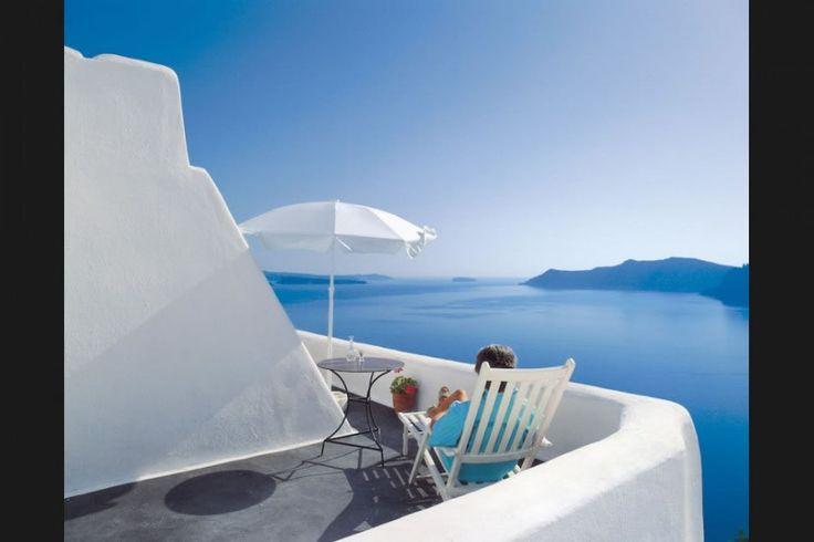 Perivolas Hotel Oia Santorini Resort Gallery | hotel recommended by Giada de Laurentiis... so want to go back to stay on Santorini