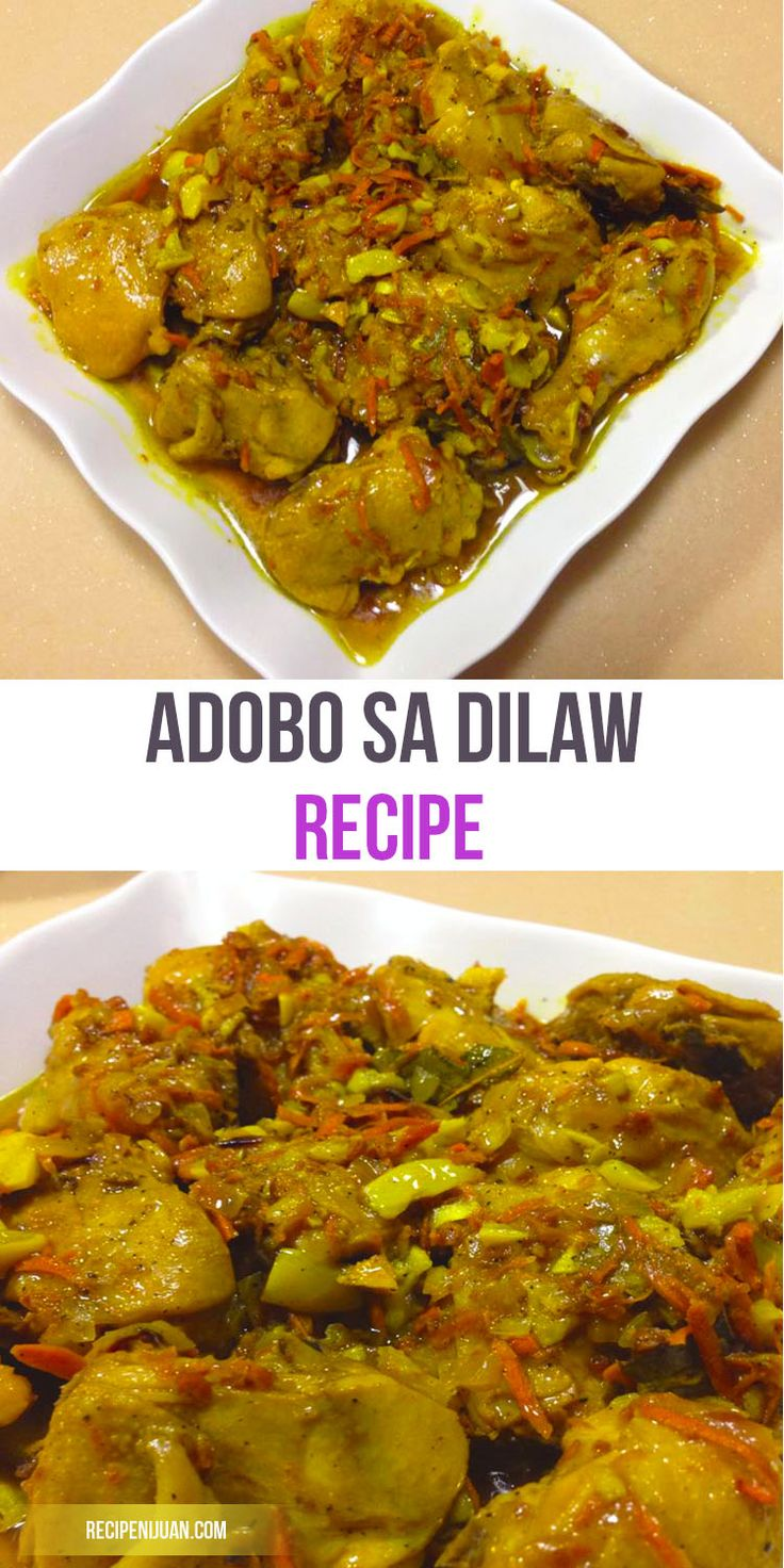 One of a Kind Adobong Dilaw Recipe. Another type of Adobo Recipe but with Turmeric