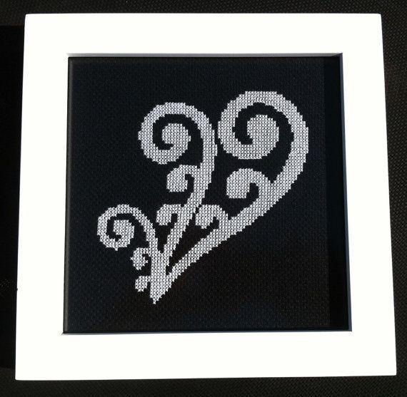New Zealand Maori Koru 1 Cross Stitch Pattern by KiwiXCrossing