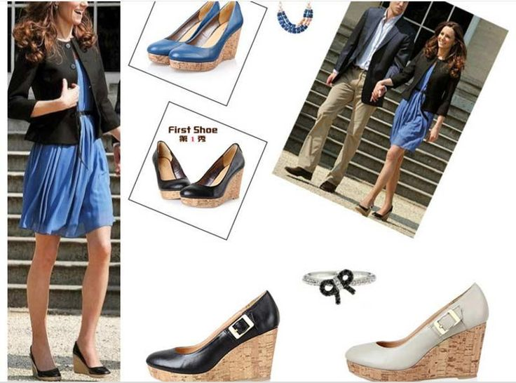 2016 Wedding Shoes Wedges With Buckle White/Blue/Black Kate Princess Bridesmaid Shoes Popular Wedding Prom Party Shoes Cheap Heels Formal Shoes From Gonewithwind, $73.3| Dhgate.Com