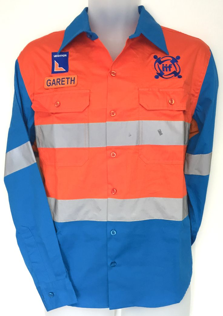 17 best images about custom made workwear on pinterest for Blue cotton work shirts